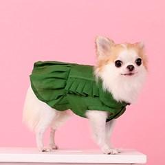 린넨 나시 원피스 LINEN DRESS green