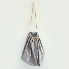 Stripe Bag _ Light Navy