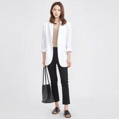 overfit linen 2 button jacket (4 colors)_(582469)