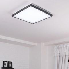LED 로뎅 정사각 방등 50W 블랙