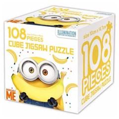 슈퍼배드 큐브 직소 퍼즐 108조각 바나나