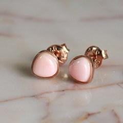로즈 콩크쉘 귀걸이 rose conch shell earring