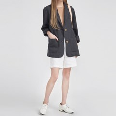 natural fit daily linen jacket (3 colors)_(583766)