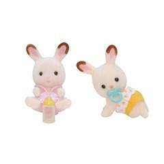 실바니안패밀리 5080 초콜릿토끼 쌍둥이(3217)
