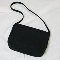 Black H shoulder bag
