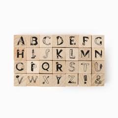 [AIUEO] AIUEO STAMP - Alphabet Hitomoji