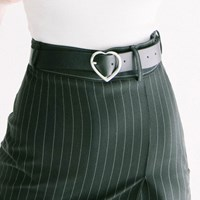 Heart Leather Belt (3colors)