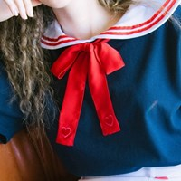 Heart Ribbon Strap (2colors)