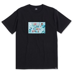 Candy S/S T-Shirts(Black)