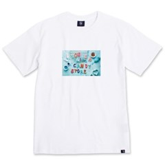 Candy S/S T-Shirts(White)