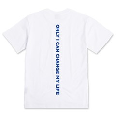 Back Message S/S T-Shirts(White)