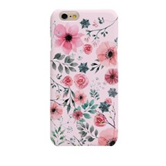 Rex Pink BG Watercolor Flower  (HF-145A) Hard Case