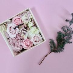 러브유 핑크 플라워 박스