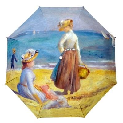 명화_르누아르-해변의 여인들 5단미니