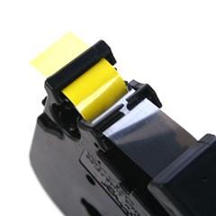 TZ-661(노란색바탕에 검정색글씨)