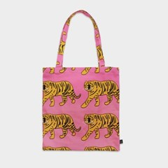 Tiger pink bag