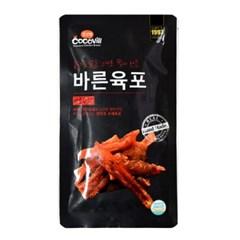 바른육포 매콤한맛 10팩 반건조 수제 닭가슴살 간식_(796127)