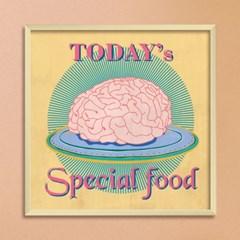 LP 메탈 액자 - special food