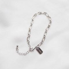 [자체제작]detail chain bracelet