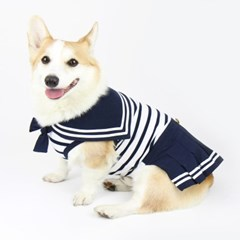 SAILOR DRESS (NAVY)