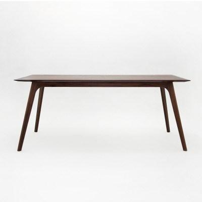 월넛 사선 테이블