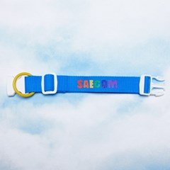 RAINBOW COLLAR (OCEAN BLUE)