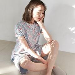 [w] Laura Short Jersey Set