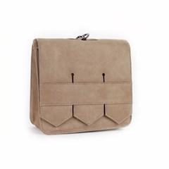Modern fringe mini bag _Beige