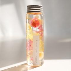 하바리움(Herbarium) - 수국 프리저브드 플라워리움 - 옐로우/핑크