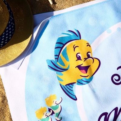 [Disney]Ariel_비치타올