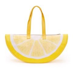 super chill cooler bag, lemon (쿨러백)