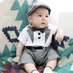 베니스 보타이 돌 백일 아기정장 롬퍼 2142