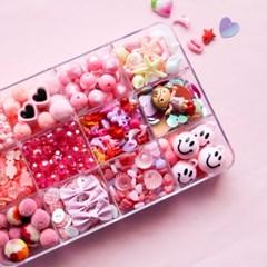 더펀즈 핑크 비즈세트