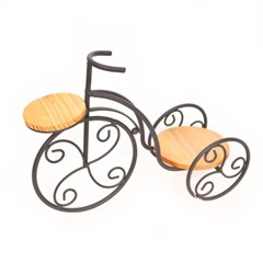 엔틱 자전거 화분받침