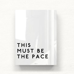 모던 북유럽액자 This must be the pace AFA01