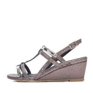 kami et muse Shiny enamel strap wedge sandals_KM17s211