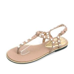 kami et muse Pearl beads flip flip sandals_KM17s208