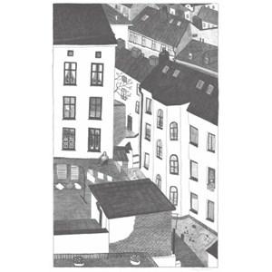 [파인리틀데이_Fine Little Day]GÅRDSUTSIKTEN Poster(70x100c