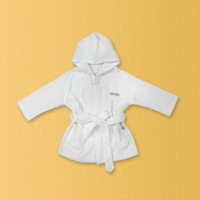[KimiO] 오가닉 목욕가운 - 화이트