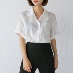 big collar linen shirts