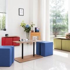 비앙스 폴로 2인 테이블&스툴