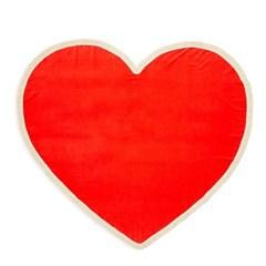 all around giant heart towel, sweetheart