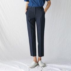 slim basic slacks