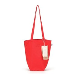 [더블유더블유]linen mini ecobag - red
