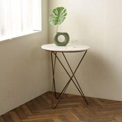 밀란 원형 대리석 테이블_(851255)