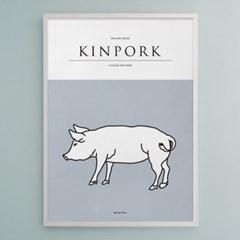 유니크 인테리어 디자인 포스터 M KINPORK 킨포크
