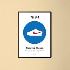 유니크 인테리어 디자인 포스터 M 포레스트 검프