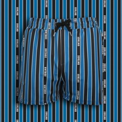 UTP-SP10 언티지 로고 스트라이프 팬츠[blue(MAN)]
