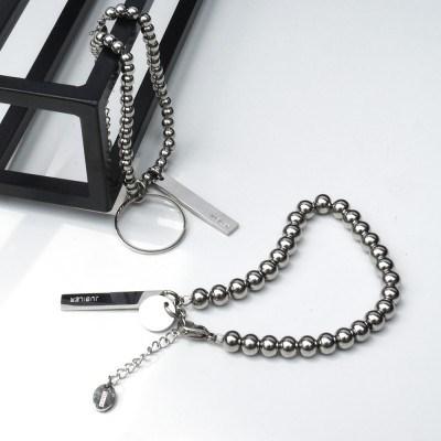 Connected ball bracelet