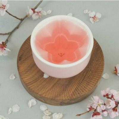 벚꽃이 차오르는 봄잔 1인세트